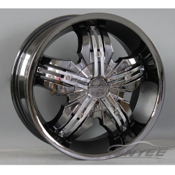 Новые диски Pinnacle P40 Venice Chrome Black 4х100/4x114,3 ET40 J7,5