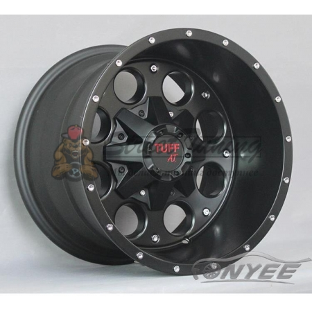 Новые диски TUFF AT R15 6X139,7 ET0 J8 черые