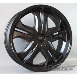 Новые диски LY wheels R20 6х139,7 ET30 J8,5 черный мат